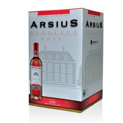 Fontaine à vin (Bag in box ou bib) bordeaux rosé AOC
