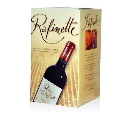 Fontaine à vin (Bag in box ou bib) bordeaux supérieur rouge AOC